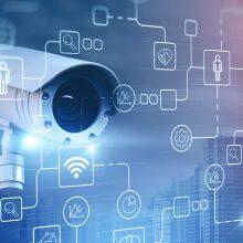 Überwachungskamera als Teil eines Überwachungssystems